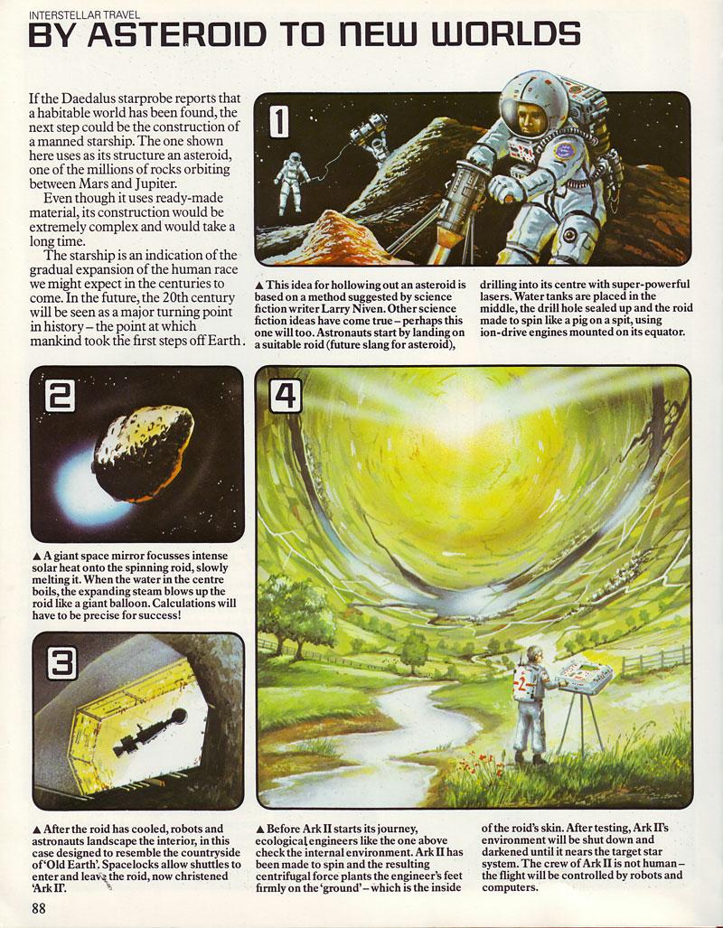 Gatland - Astroid starship
