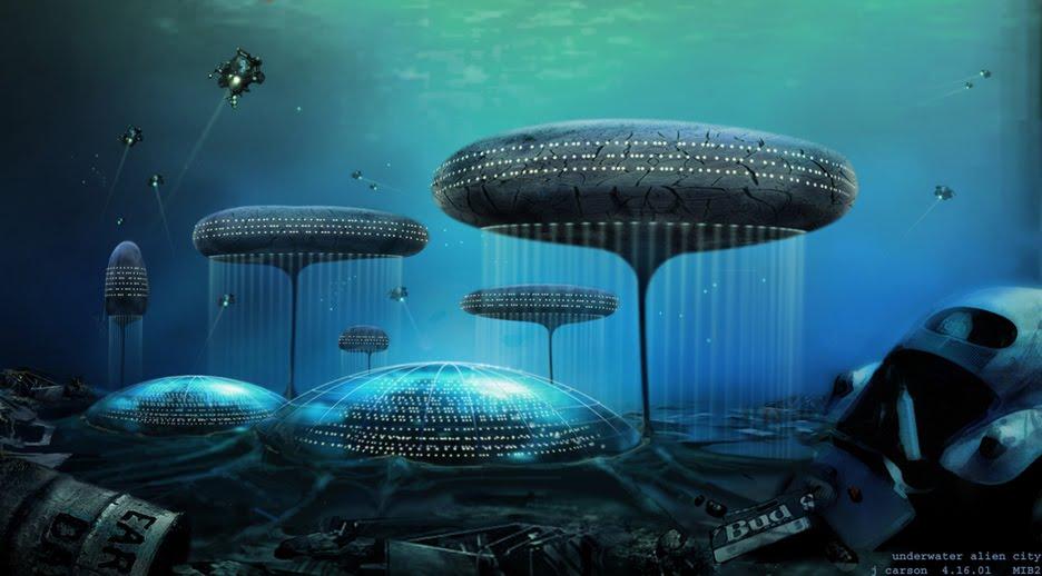Real Underwater City Undersea Cities...